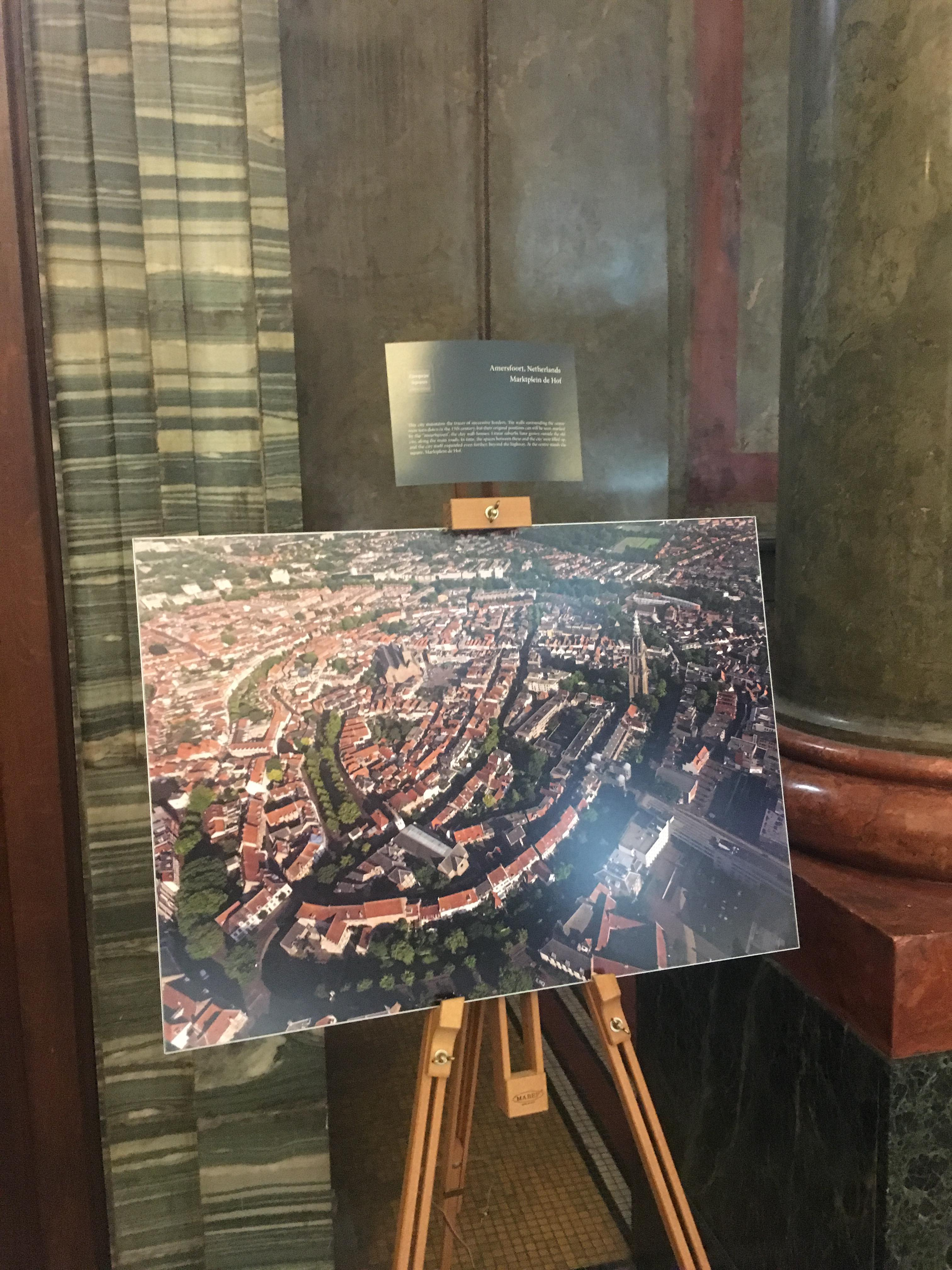 """See the exhibition with drone photography """"European Squares and Their Histories"""""""