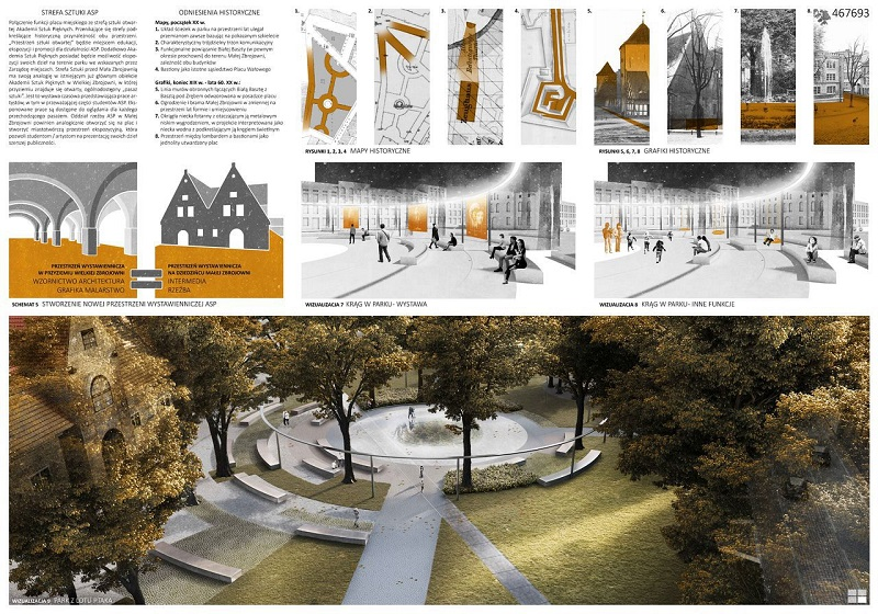 See what the renovated Wałowy Square in Gdansk will look like