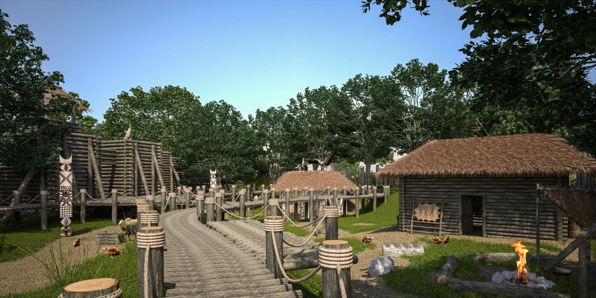 The largest historical park in the world opens near the city of Varna