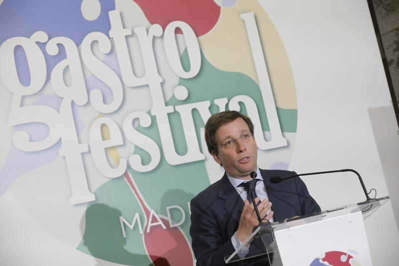Mayor of Madrid Almeida on the Gastrofestival 2020