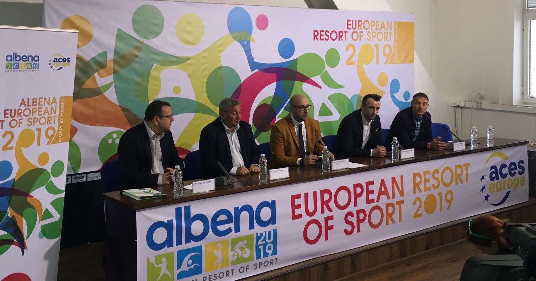 Албена е първият Европейски курорт на спорта