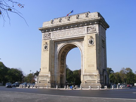 Bucharest's Arch of Triumph can be visited this weekend