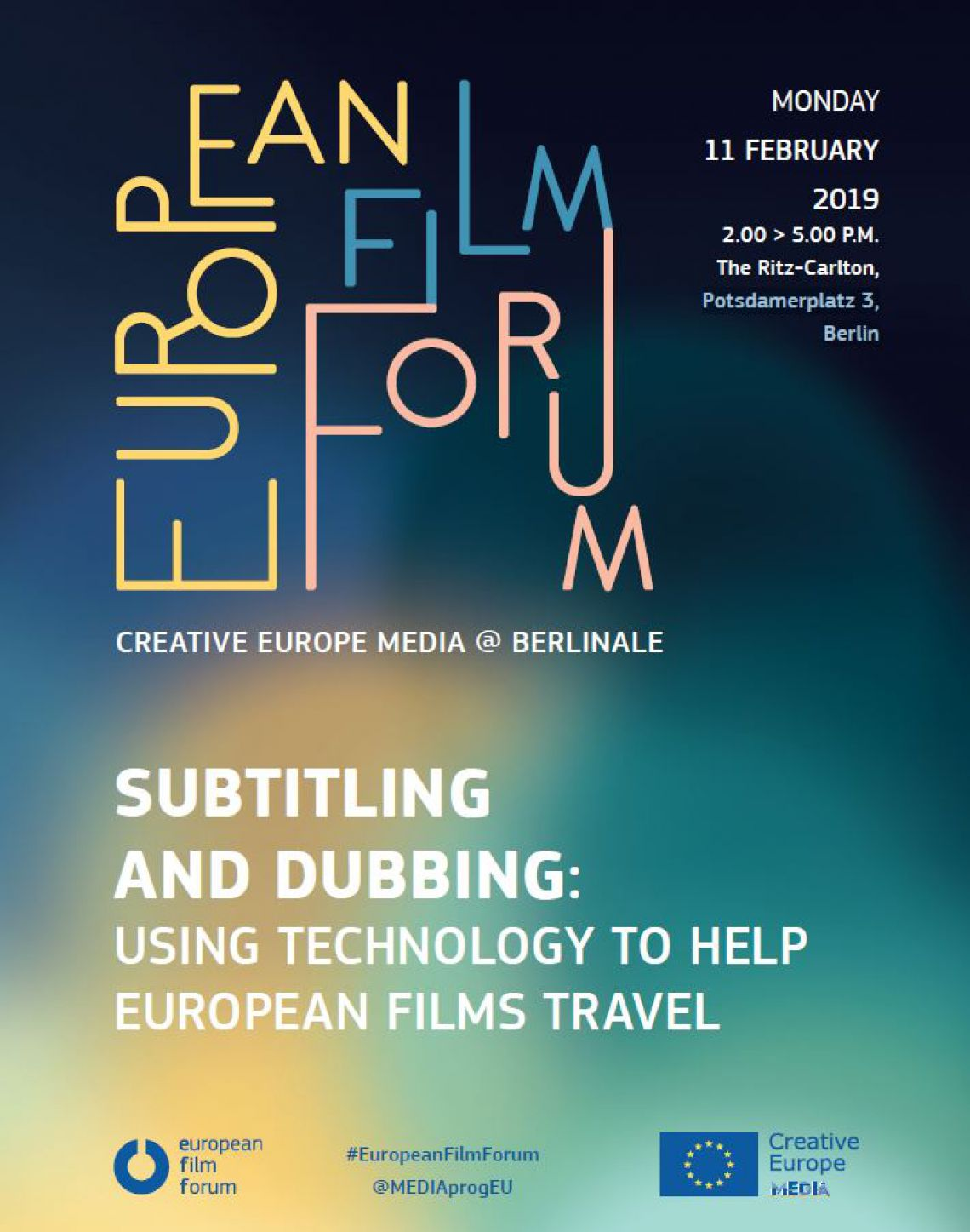 The European Film Forum 2019 starts during the Berlinare