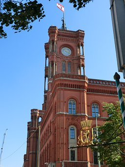 The Red Town Hall – one of Berlin's most famous landmarks