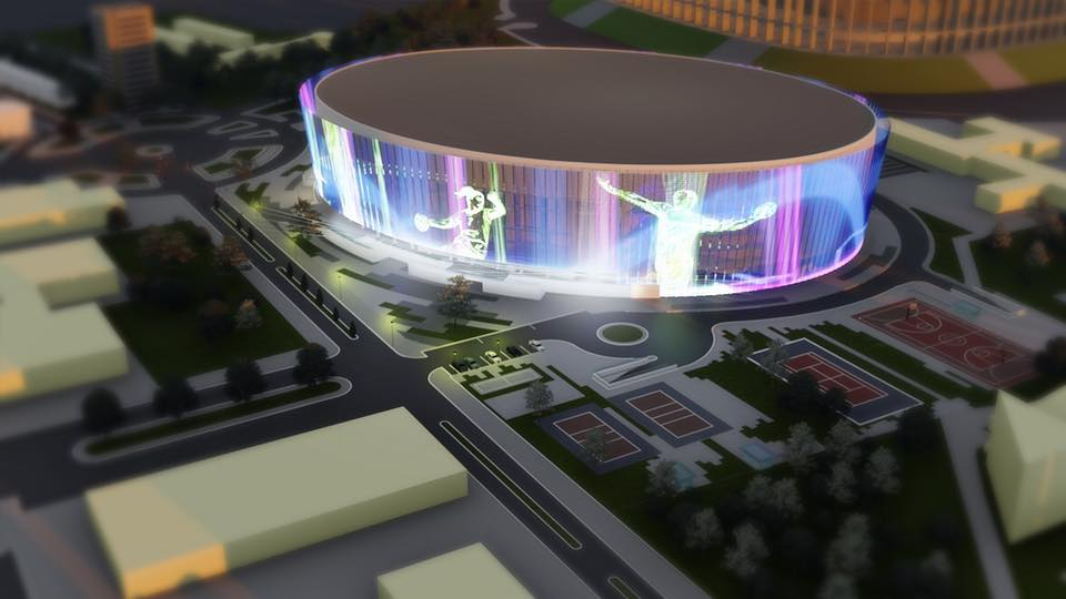 The largest multi-purpose hall in Romania to be built in Bucharest