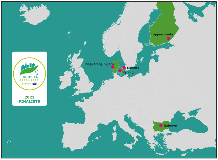 European Green Leaf 2021 finalists
