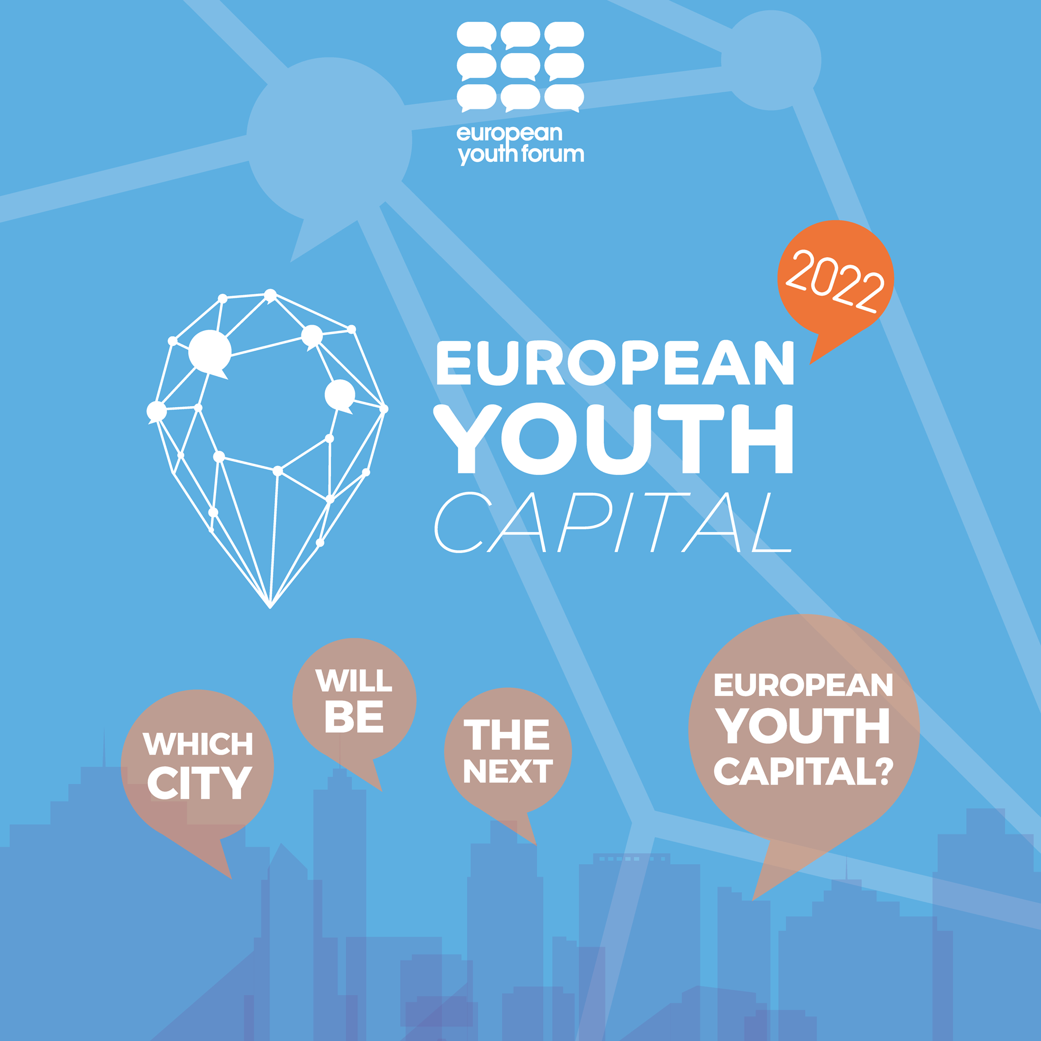 The call for the European Youth Capital 2022 competition is open