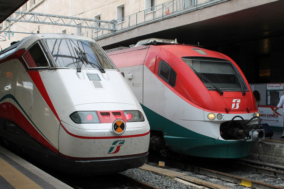 From December, travelers can take the fast train direct to and from Rome airport