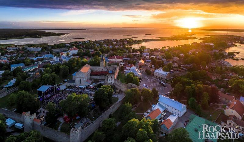 Haapsalu is renowned for its clean nature and curative sea mud