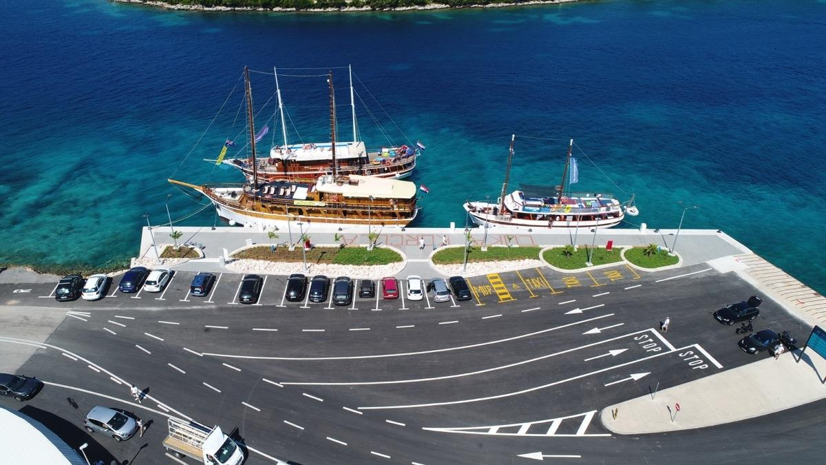 New Korcula port is officially operational