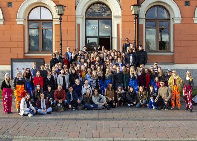 Kuopio welcomes international students to Stand Up Night