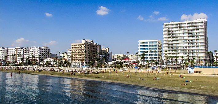 Larnaca beach cleaned as part of green international marathon