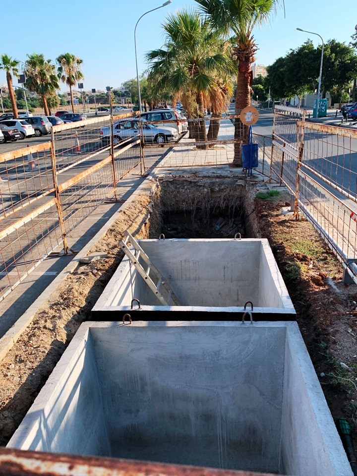 Larnaca installs underground bins along its beach areas
