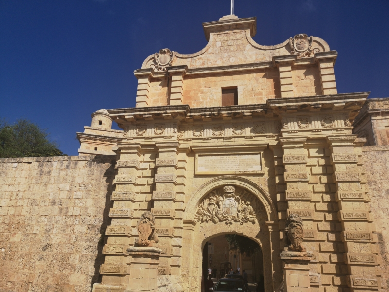 Mdina Main gate