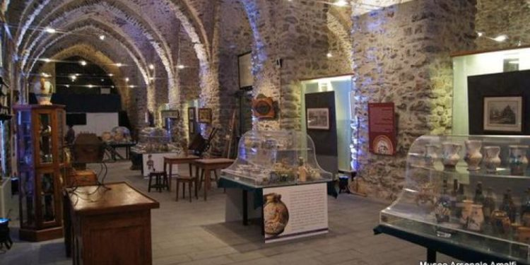 20,000 financing for the Arsenal Museum in Amalfi by the Campania Region