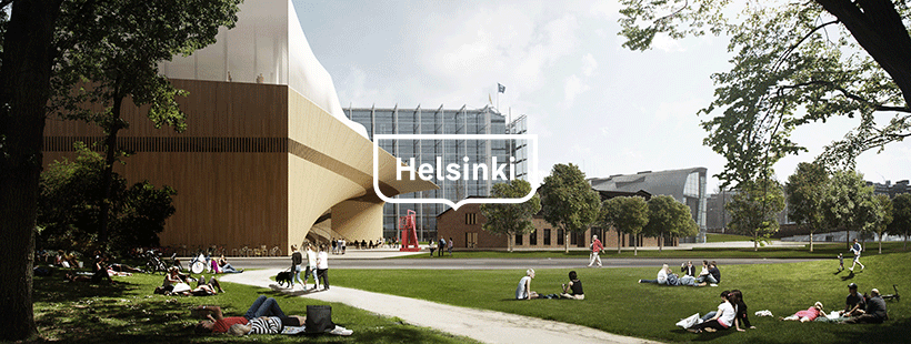 The new Helsinki Central Library Oodi – opened its doors to the public