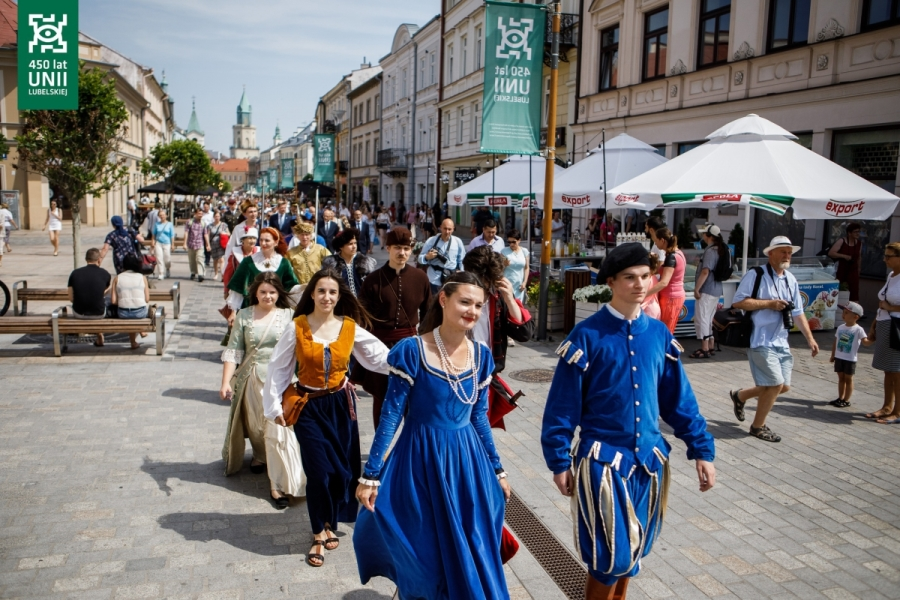 city of Lublin 450 anniversary
