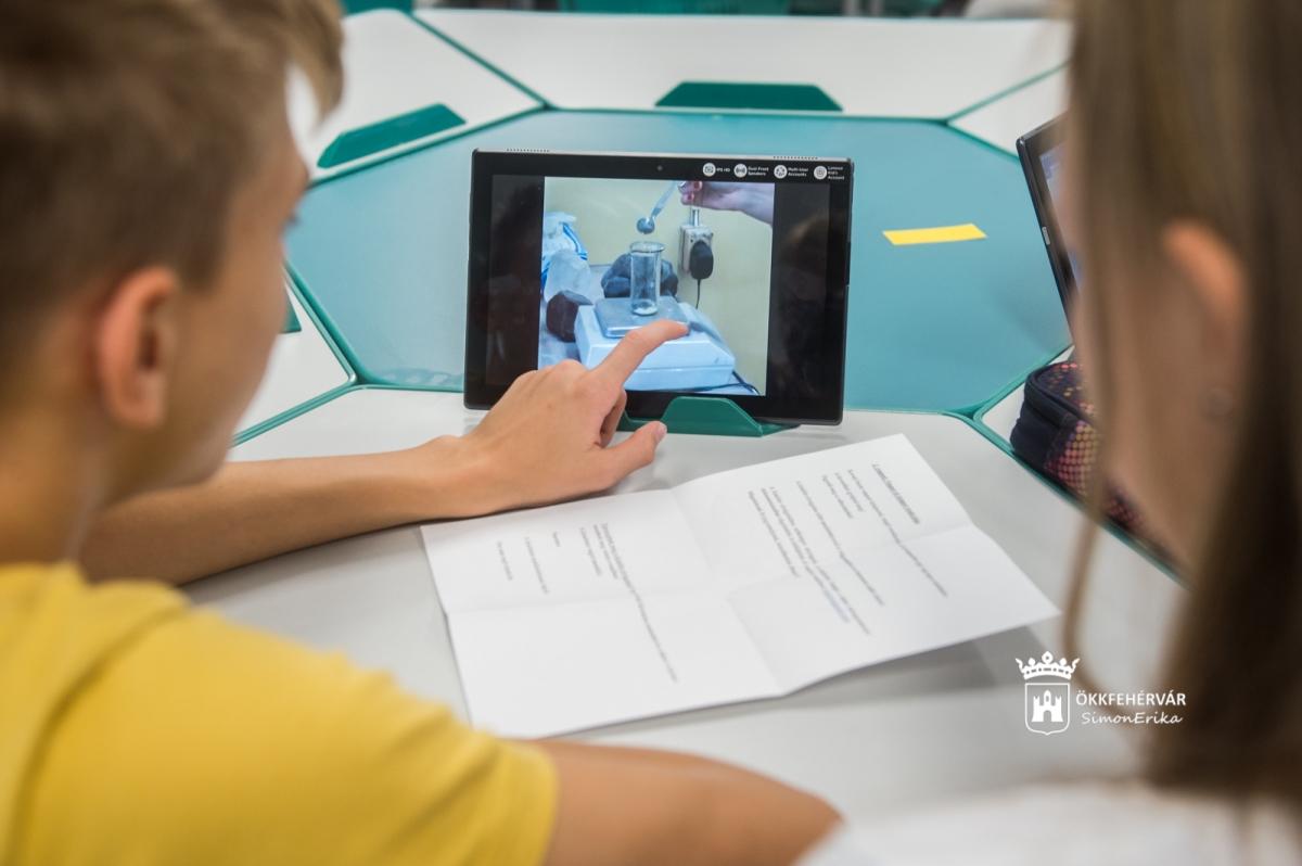 Smart classroom Székesfehérvár