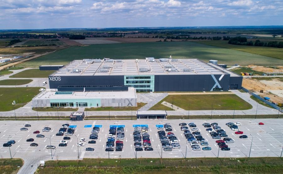 XEOS plant Wroclaw aerial