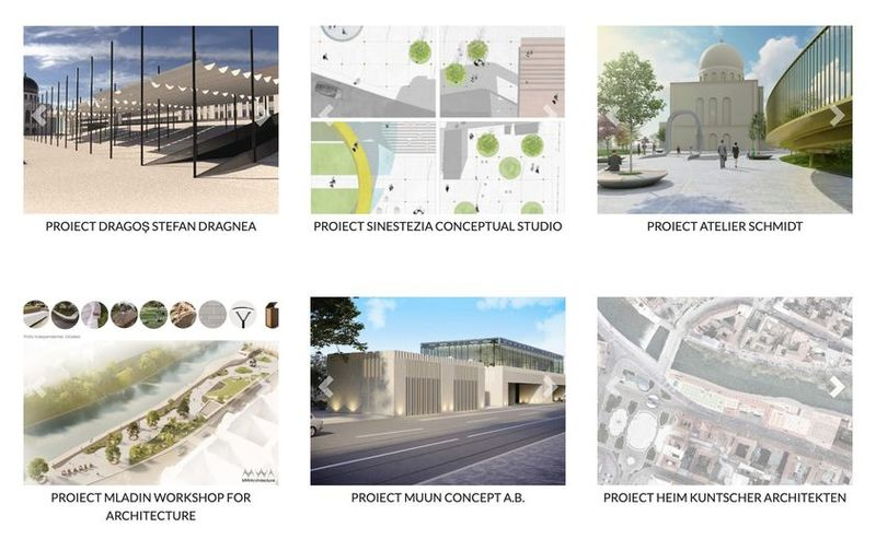 Oradea votes for the most suitable architectural project for Independence Square