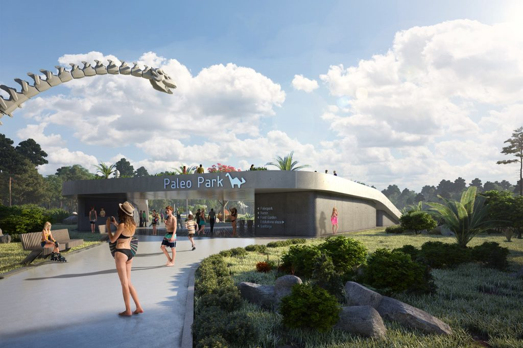 A dinosaur-focused aqua park opens this summer in Istria