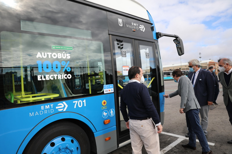 Madrid new electric buses