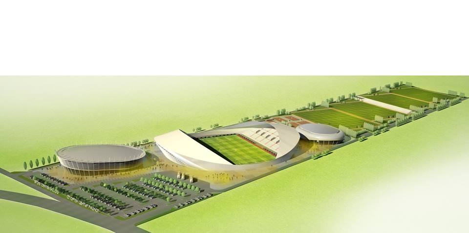 The city of Razlog will soon have a mega sports complex
