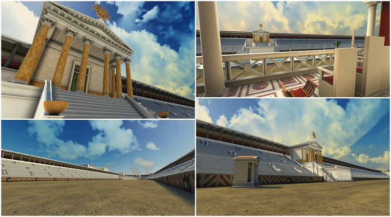 Rome Municipality gives you the unique opportunity to experience history through virtual reality
