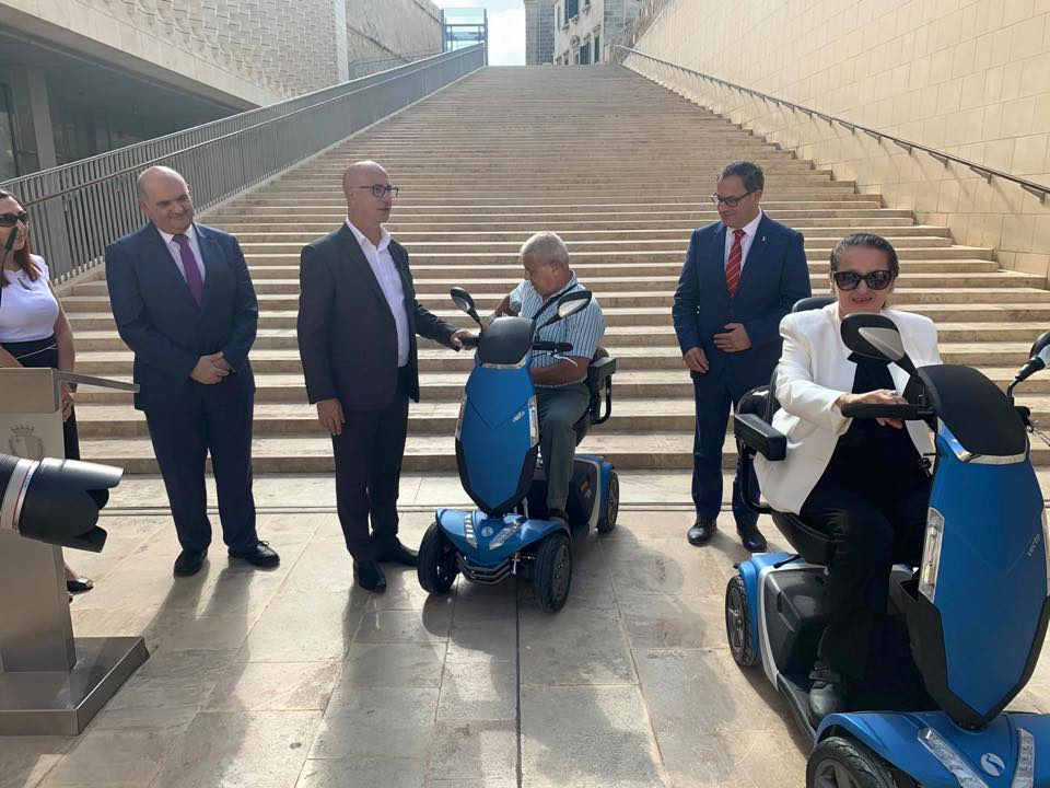 Seniors scooters Valletta