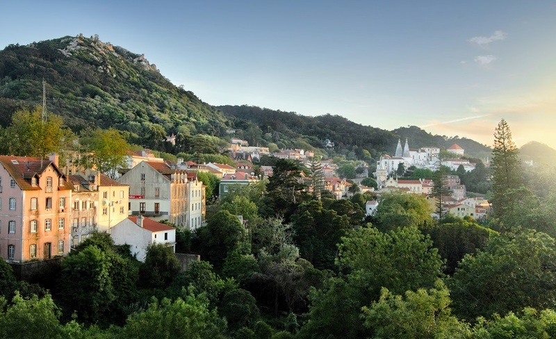 Scenic view of Sintra