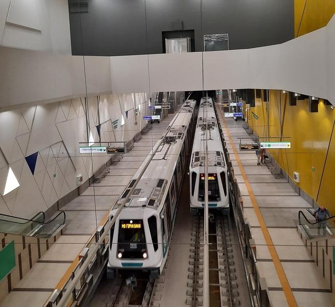 Sofia Metro unveils a new line