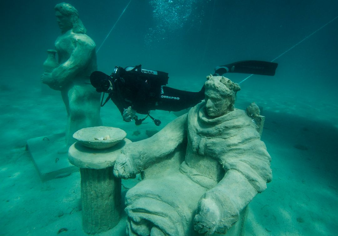 World's First Underwater Stations of the Cross is in Trogir