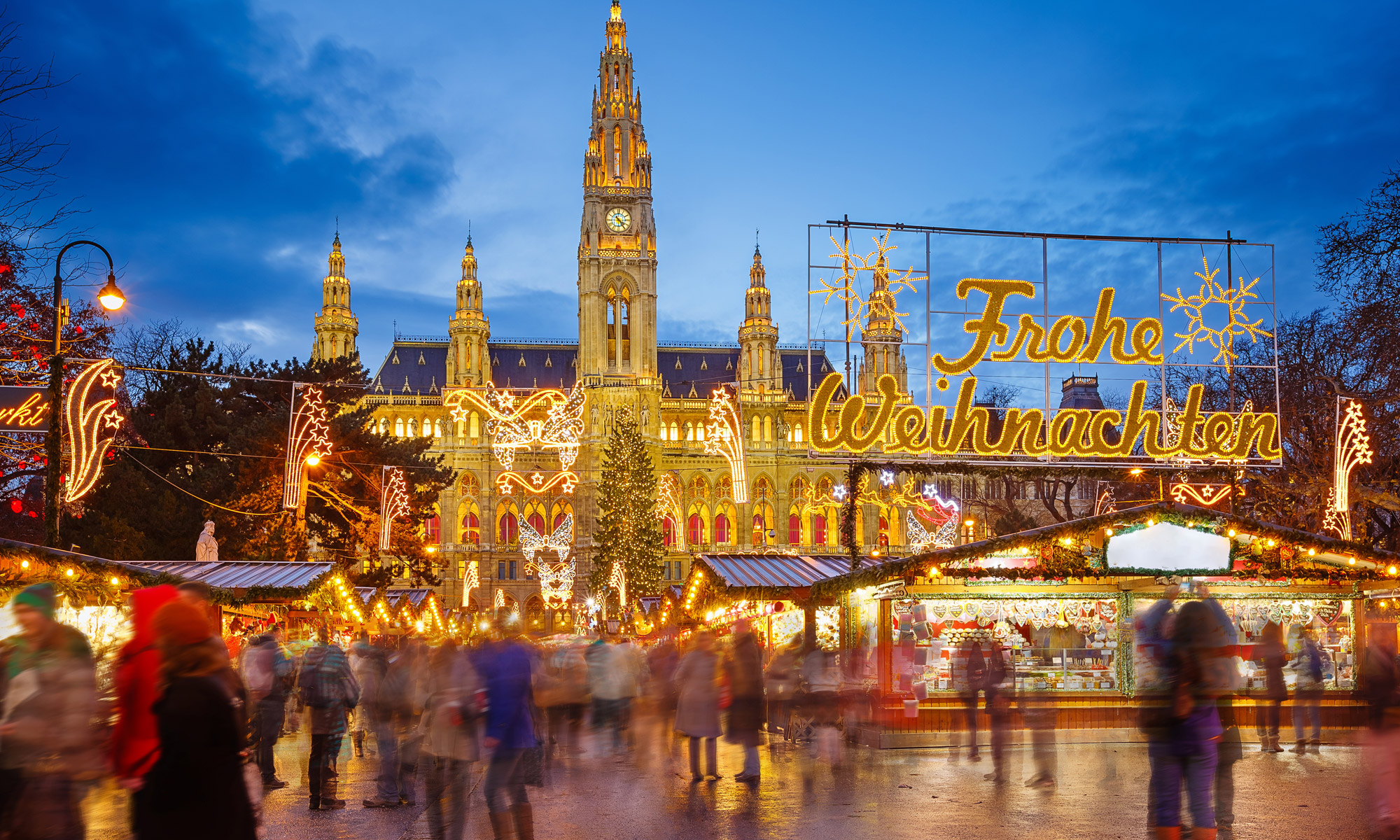 Enjoy the World-Famous Viennese Dream Christmas Market