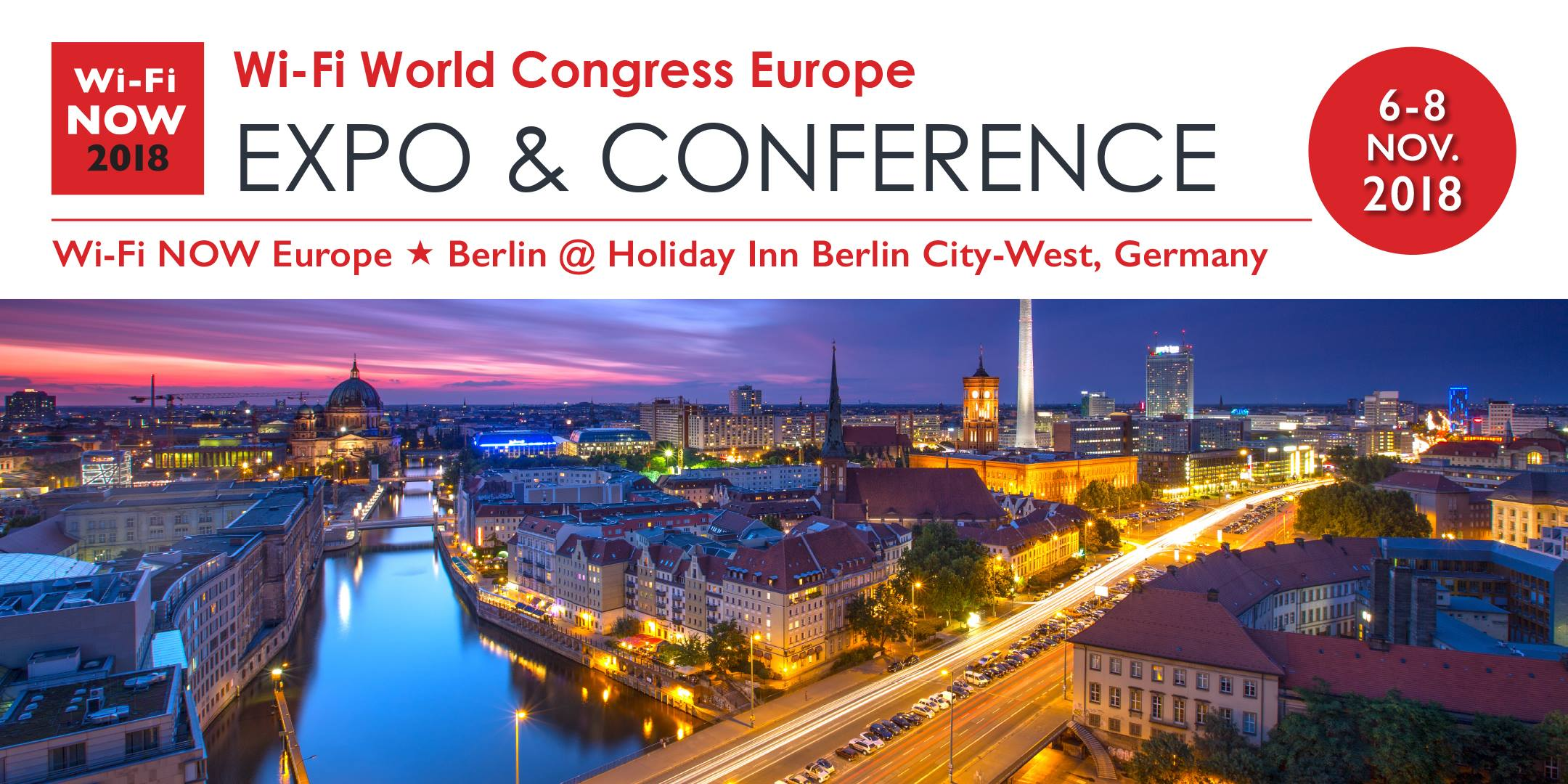 Meet inspirational keynote speakers and innovators at Wi-Fi NOW expo and conference in Berlin