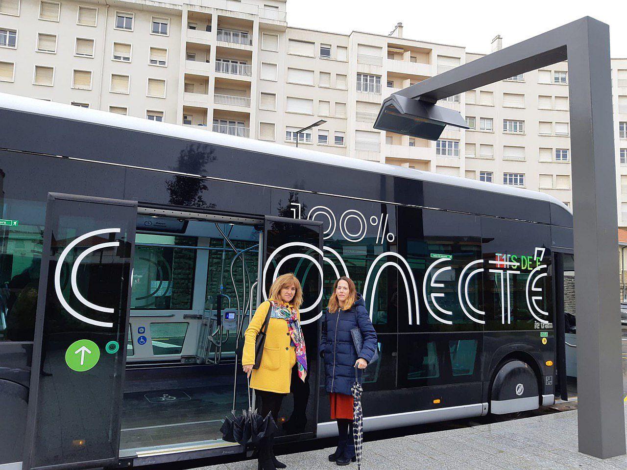 Vitoria-Gasteiz electric bus