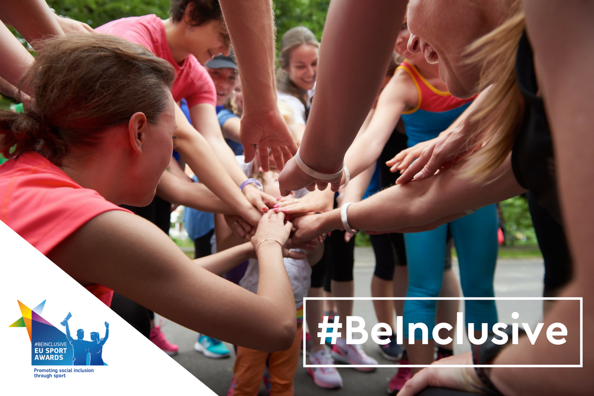 See who are the winners of #BeInclusive EU Sport Awards