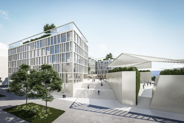 Vienna's Campus of Religions takes shape