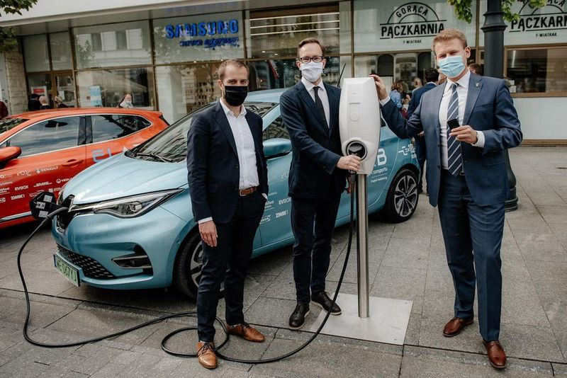 electric mobility tests in Lodz