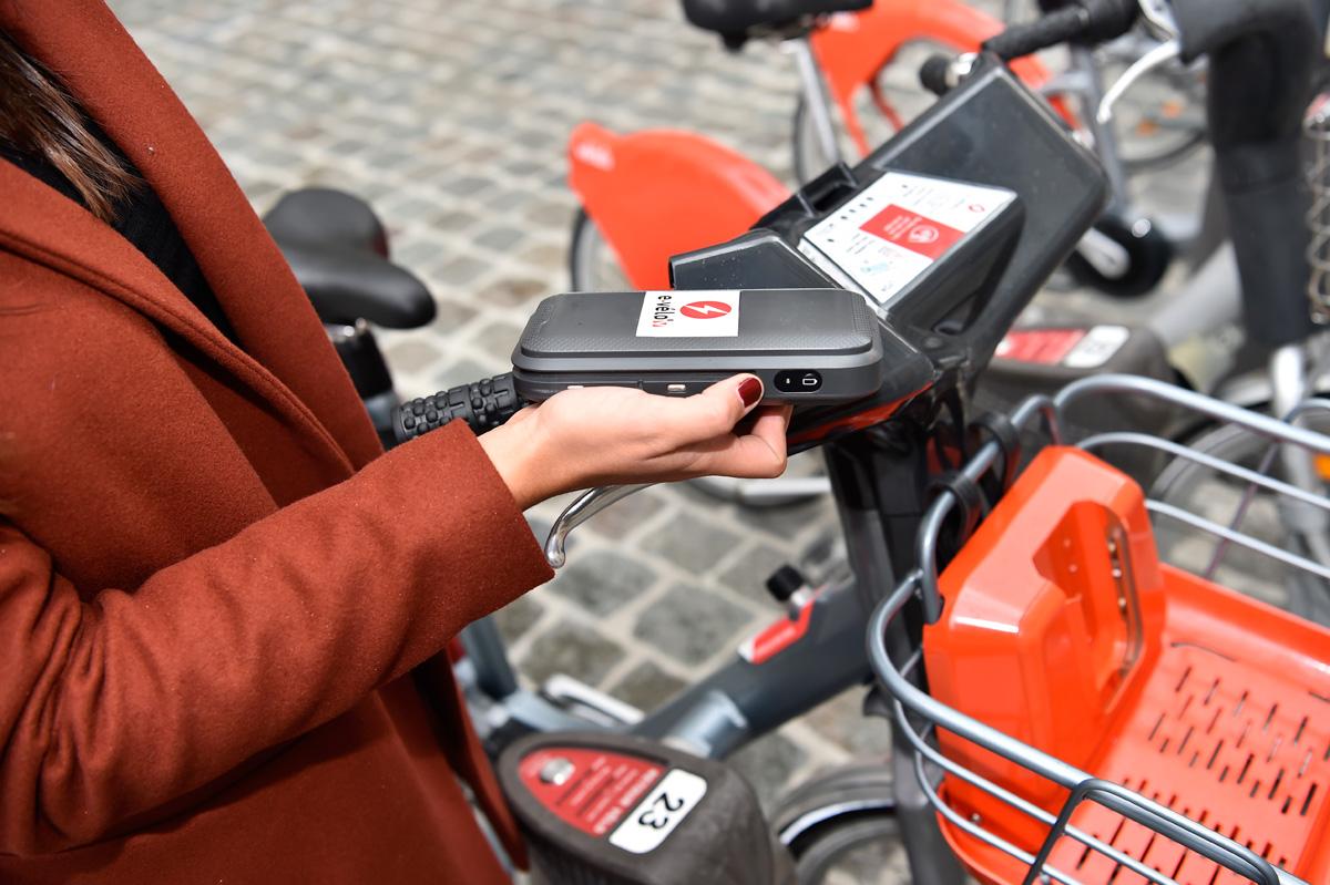 electric bike battery Lyon