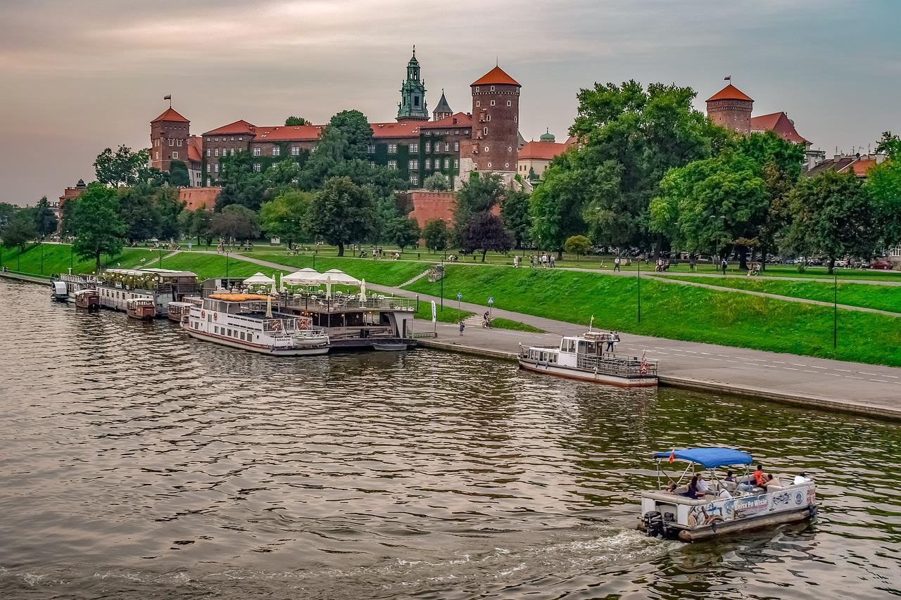 green Krakow Wawel