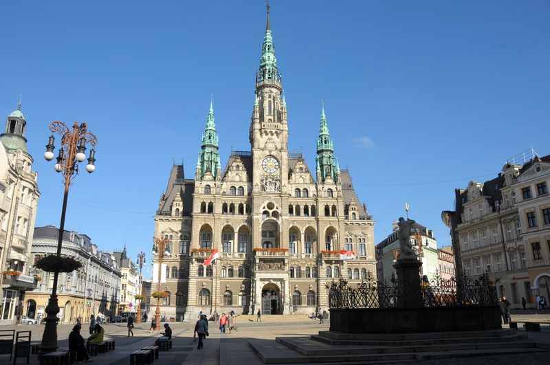 Liberec city hall building