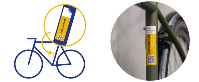 Never have your bike stolen again: simple solutions from Brussels