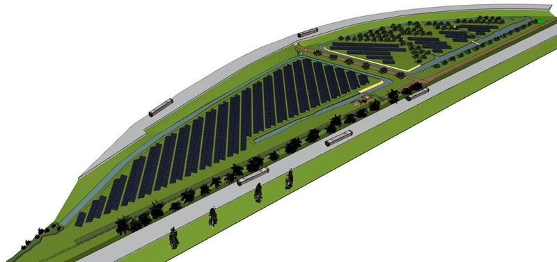Eco-solar park 't Oor