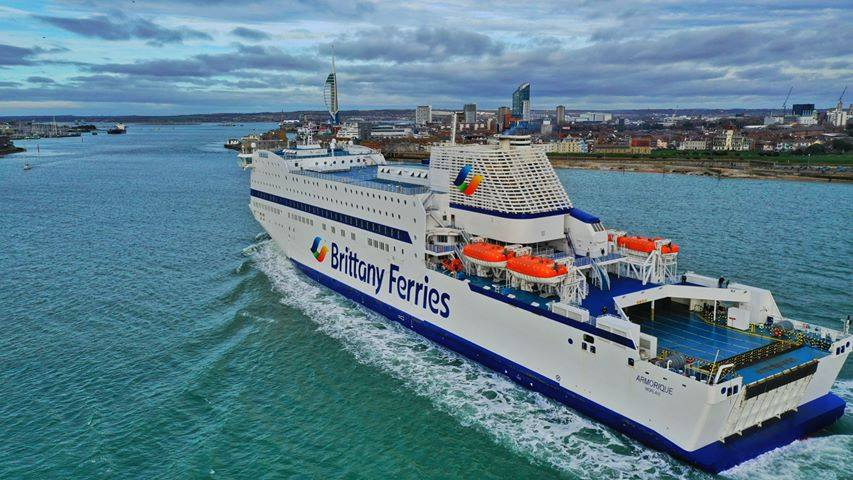 Brittany ferries ships  enthusiasts and crew