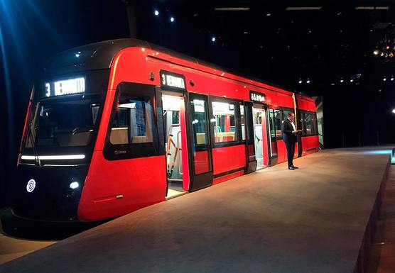 Slider tram