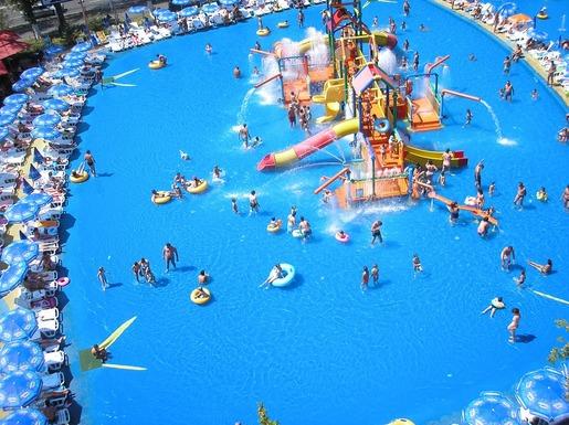 Slider aquapark