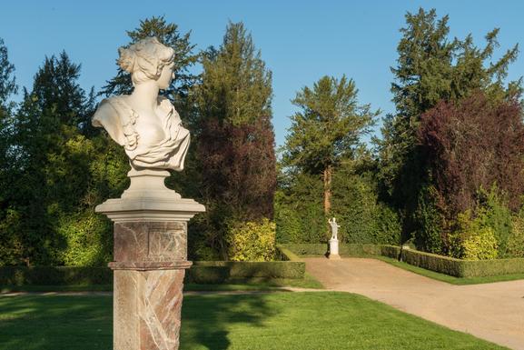 Slider chateau de versailles garden