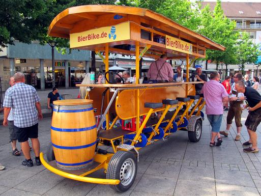 Slider beer bike ulm germany img 5911s