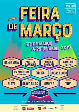 Slider feira de marco 2019 cartaz aveiro
