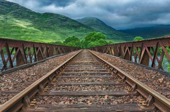 Slider railway